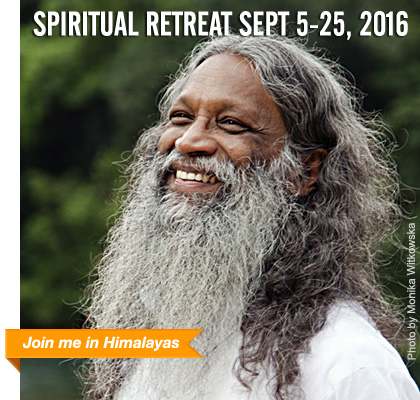 Spiritual Retreat in Himalayas September 2015 | with Swami Santhiprasad School of Santhi Yoga School in India